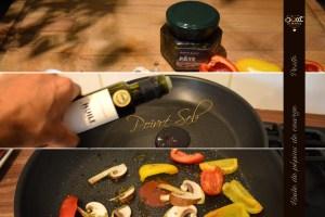 Préparation petits poivrons pour l'apéro SWEET PUMPKIN