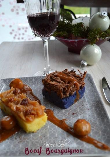 Mousse de chocolat au lait et biscuits roses de Reims
