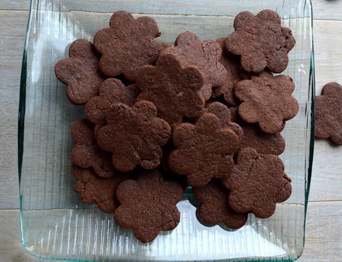 Biscuits cacao sans œufs