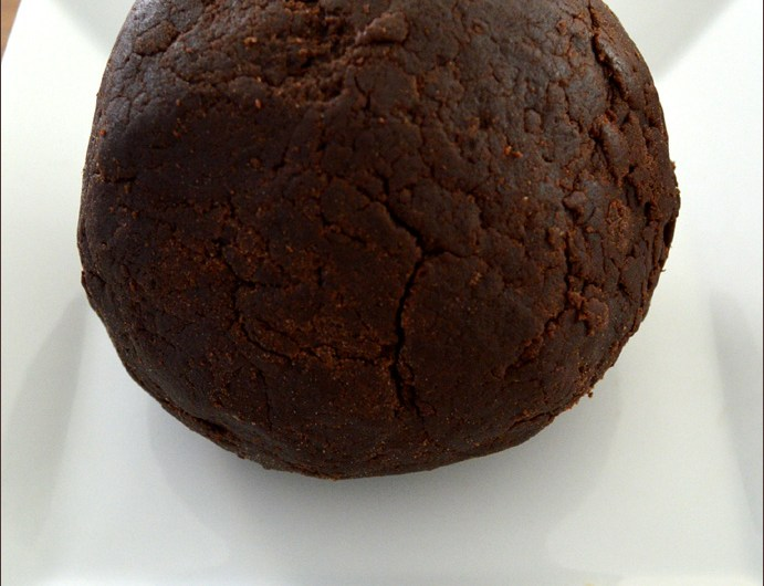 pâte sablée sans œufs 100% cacao