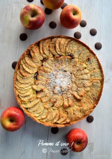 Gâteau fraîcheur aux pommes de terre colorées
