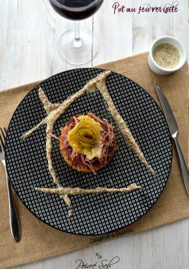 Velouté de potimarron et ses tuiles de pommes de terre aux oignons