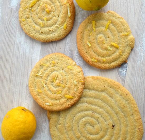 Succès amande aux zestes de citron