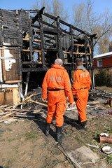 независимая экспертиза причин пожара и определение очага возгарания
