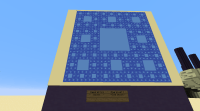 Sierpinski Carpet fractal in Minecraft - PoJdotcom's Blog
