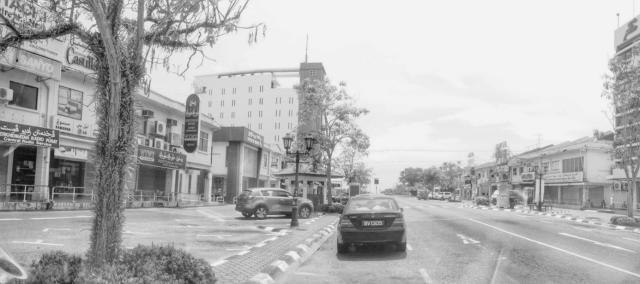 Seria Kota Minyak dalam Hitam & Putih
