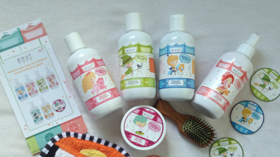 pout care, pout hair and body care, hair product for children