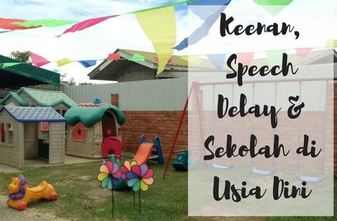 speech delay, perkembangan anak, lambat bicara, sekolah usia dini