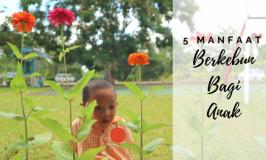 5 Manfaat Berkebun Bagi Anak