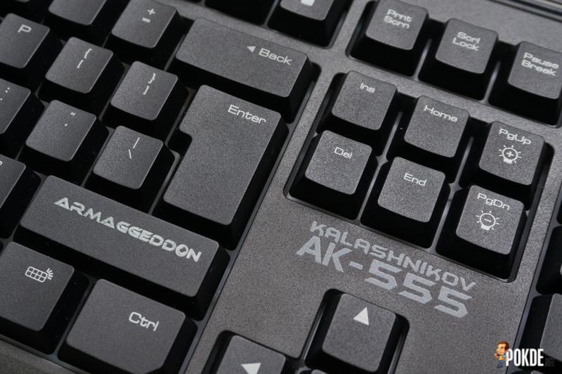 ARMAGGEDDON Kalashnikov AK-555i gaming keyboard review 26
