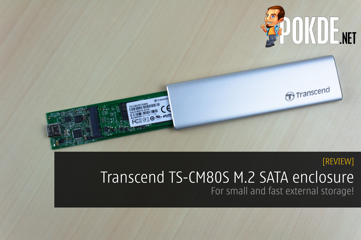 Transcend TS CM80S M2 SATA Enclosure Review For Small And Fast External Storage Pokde
