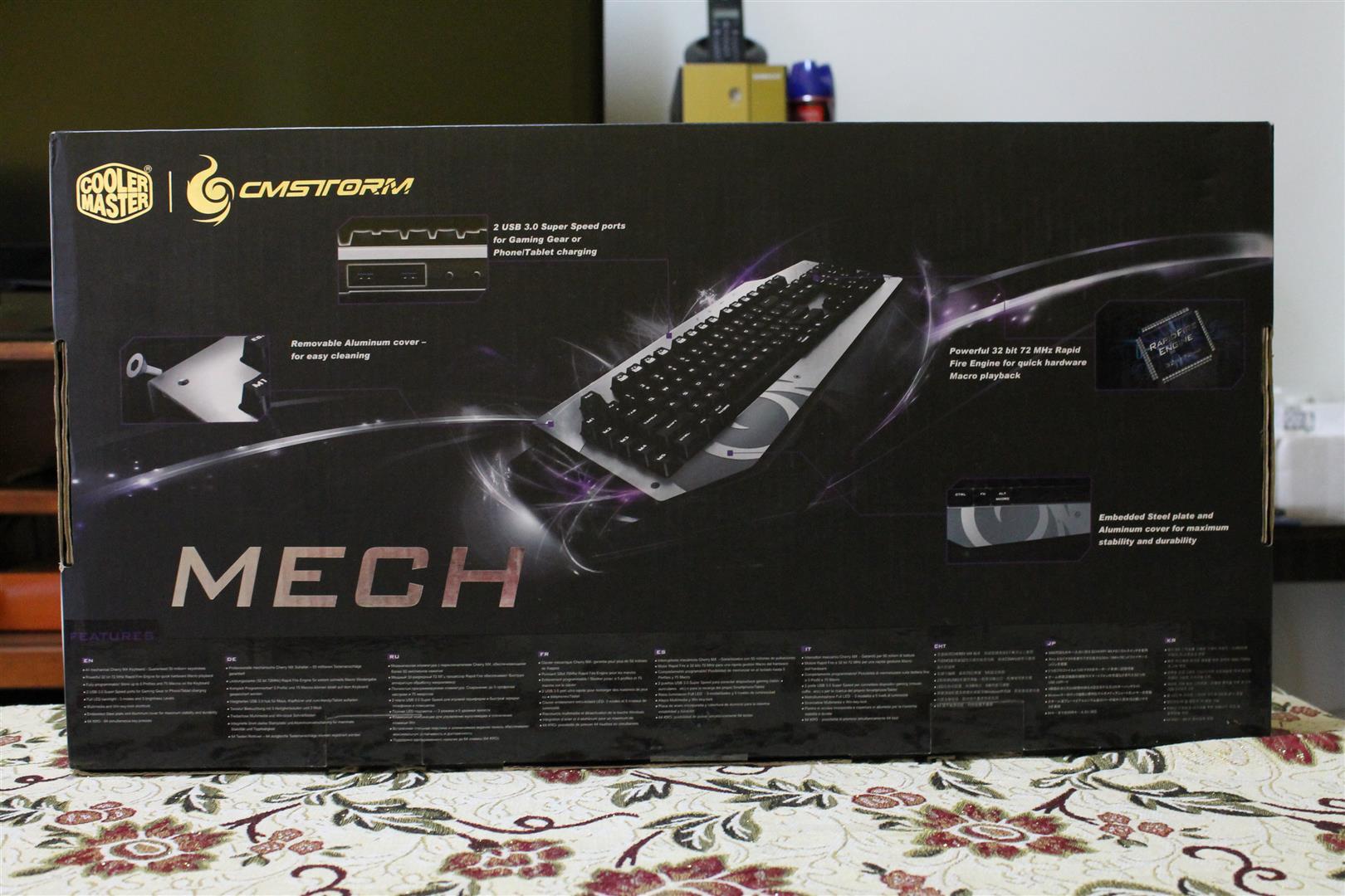 Cooler Master MECH Aluminum Gaming Keyboard Review – Pokde
