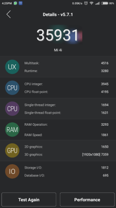 Antutu 32-bit Performance Mode