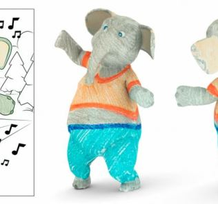 Disney research turns children's coloring books into augmented reality 31