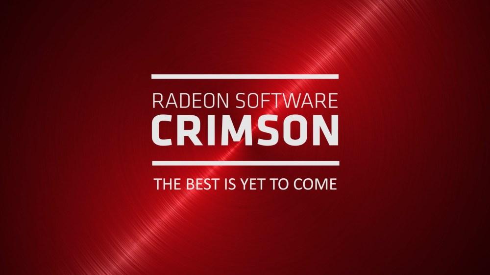 RIP AMD Catalyst, welcome Radeon Software : Crimson Edition