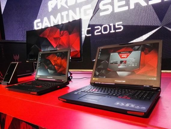 Acer Predator 15 and 17