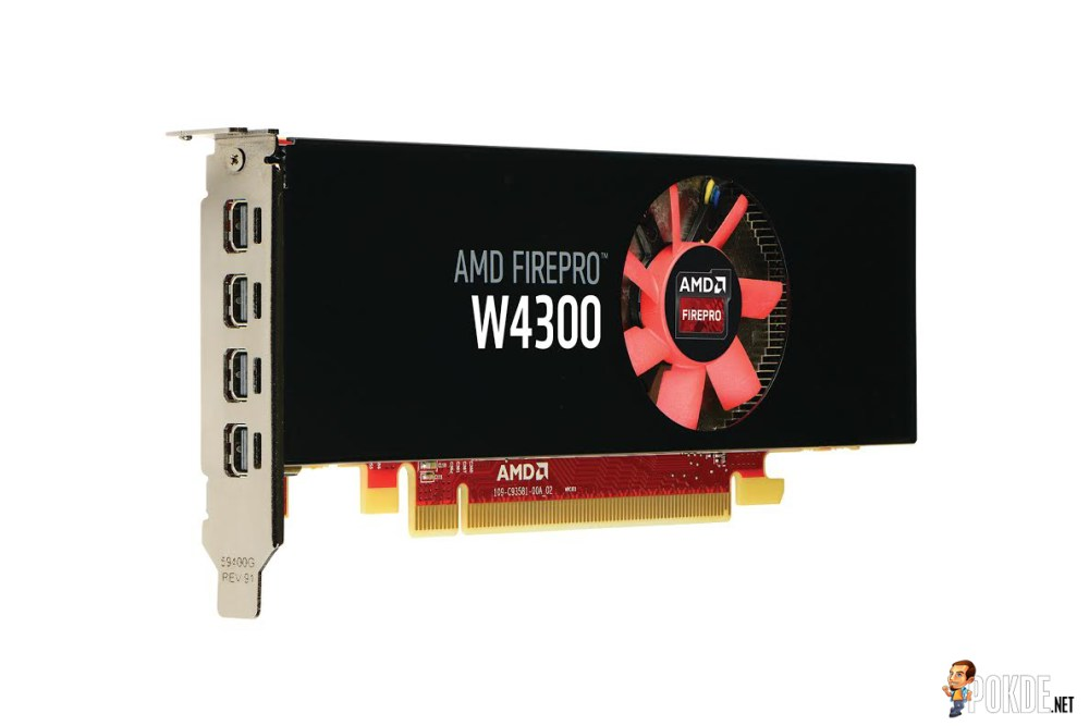 AMD Launches the AMD FirePro W4300 Low Profile GPU for Both