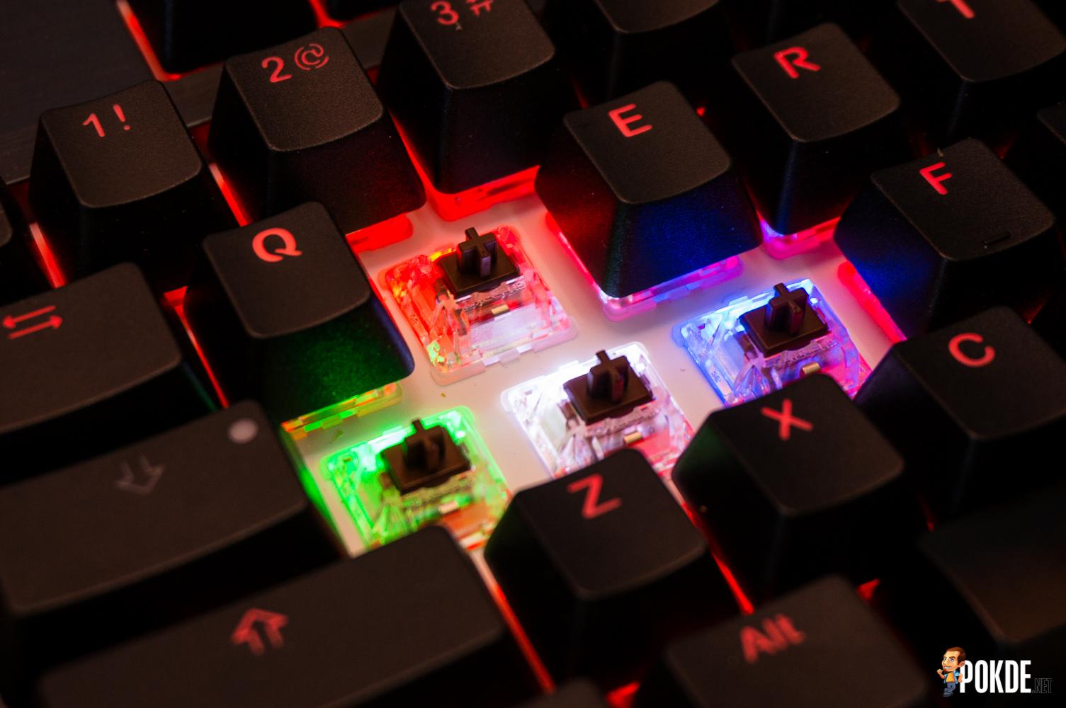 Ducky Shine 5 RGB mechanical keyboard review – Pokde