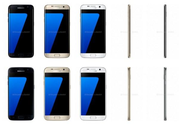 Galaxy S7 renders