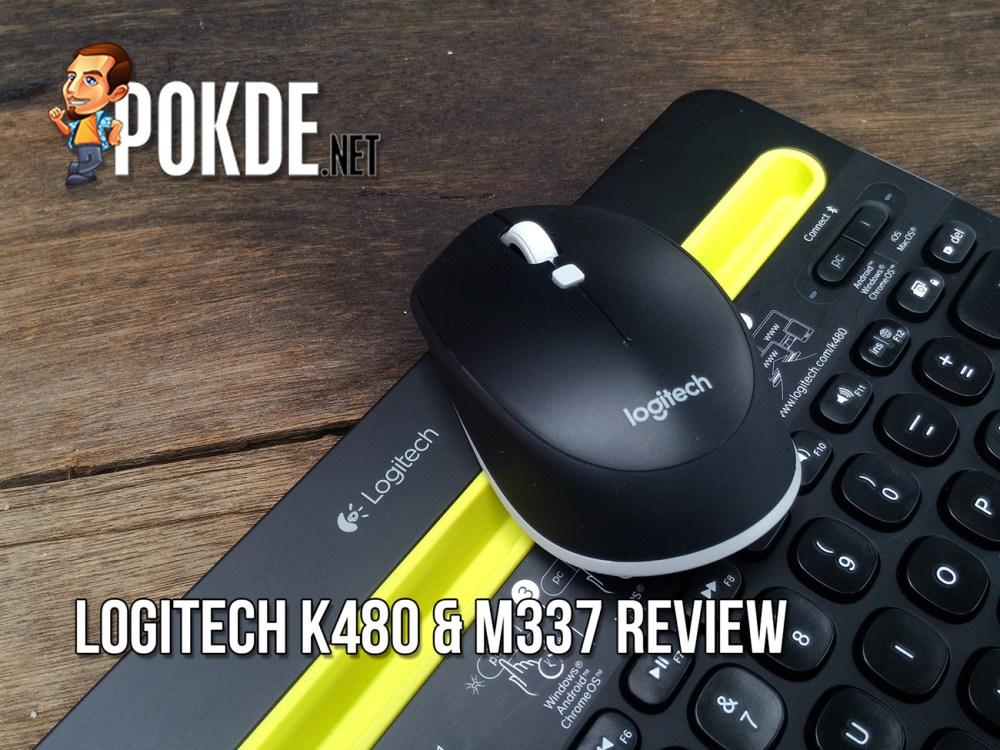 Logitech K480 & M337 review – Pokde