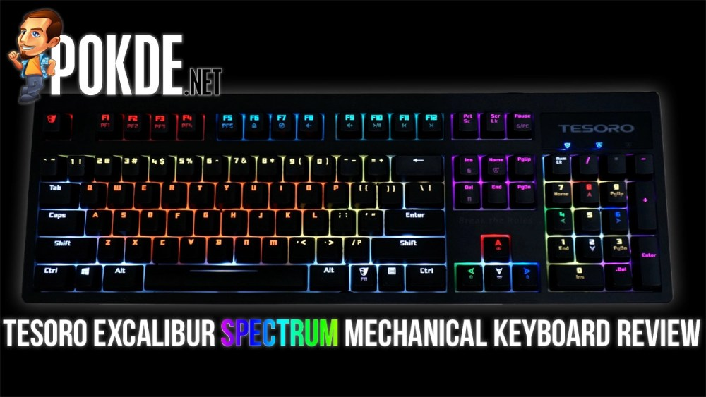 Tesoro Excalibur Spectrum review — RGB without breaking the bank – Pokde