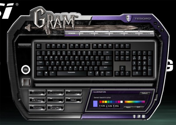 Tesoro Gram Spectrum driver (2)