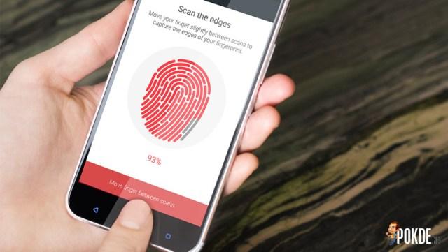 HTC 10 fingerprint