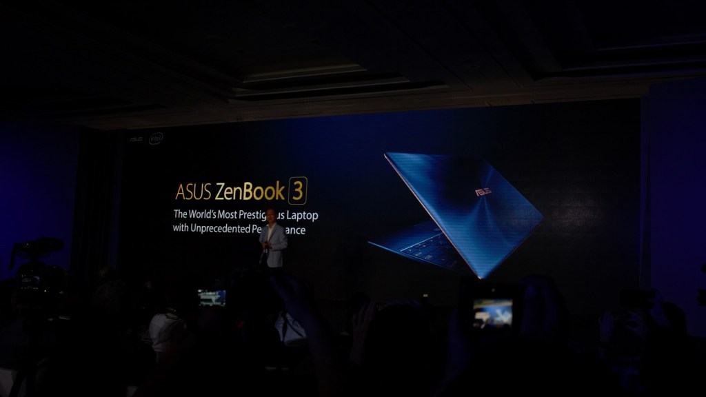 "The curtain unfolds with the Asus Zenbook 3. Claiming it as the ""most prestigious laptop with unprecedented performance"". That's quite a claim to live up to."