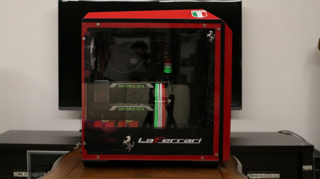 HUGE KUDOS to Iren Modz for the transparent cover and the LaFerrari PSU cover! Love you baby!