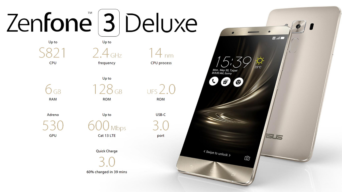 asus zenfone 3 deluxe is the first device to pack a. Black Bedroom Furniture Sets. Home Design Ideas