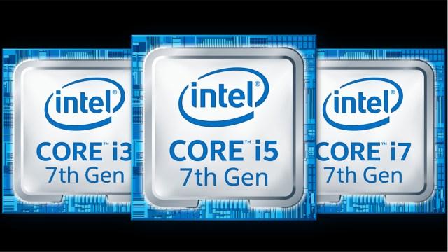 7th Gen Intel Kaby Lake Core family