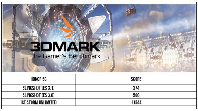 honor 5C 3Dmark