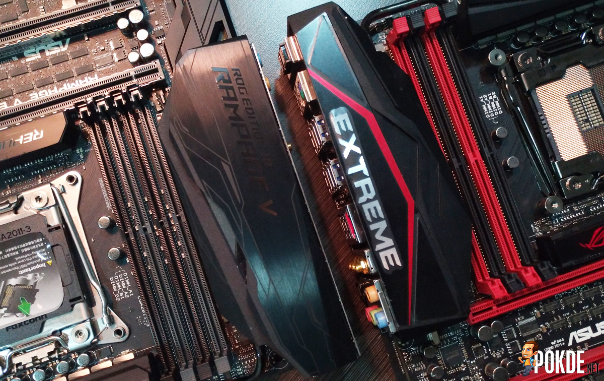 First Impressions And Comparison Asus Rog Rampage V Extreme Vs Motherboard Edition 10 Pokde