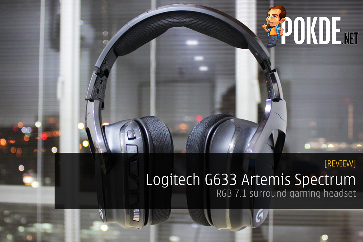 Logitech G633 Artemis Spectrum, RGB 7.1 Surround Gaming