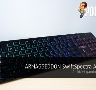 ARMAGGEDDON SwiftSpectra AK-333s review — a chiclet gaming keyboard 26