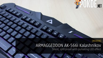 ARMAGGEDDON SwiftSpectra AK-333s review — a chiclet gaming
