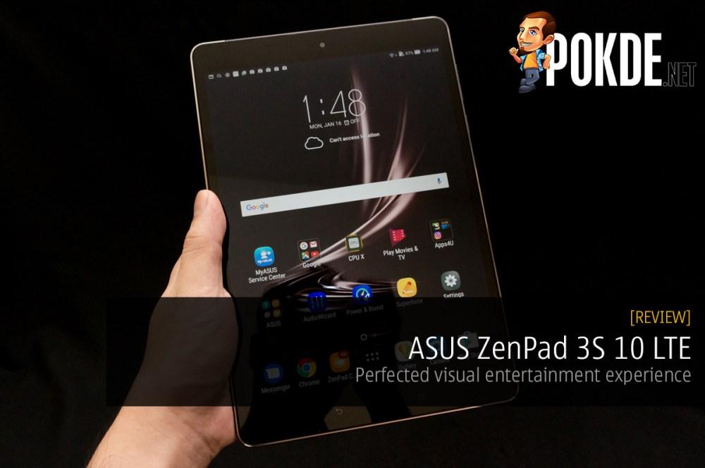ASUS ZenPad 3S 10 LTE (Z500KL) review — perfected visual