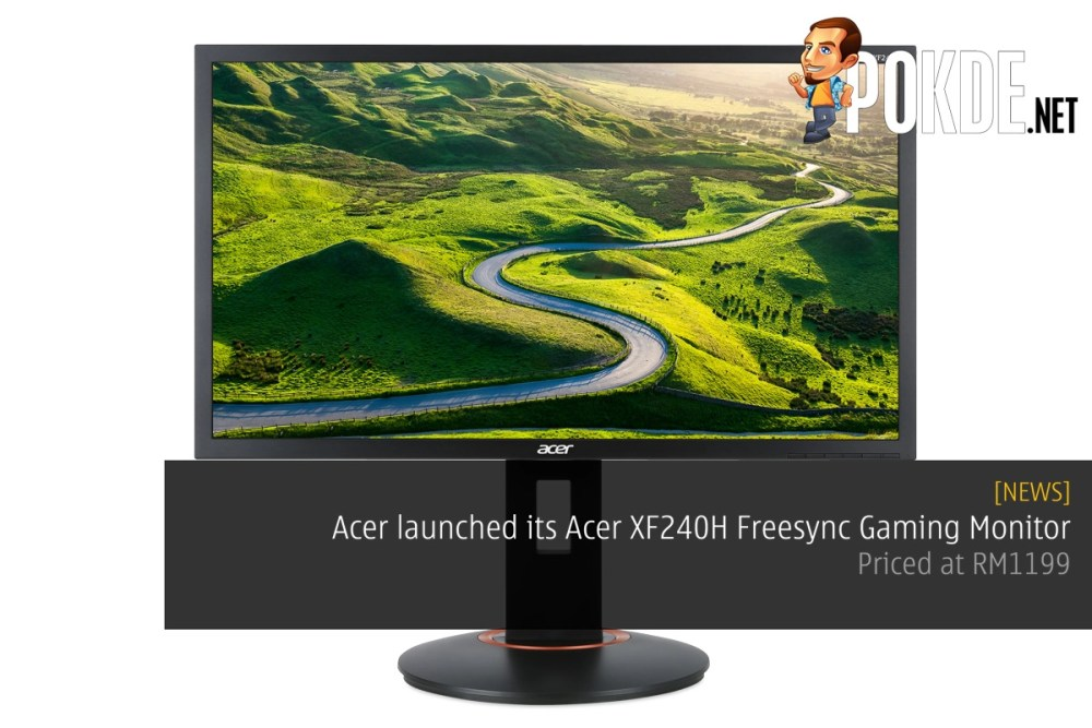 Acer launched its Acer XF240H Freesync Gaming Monitor – Priced at