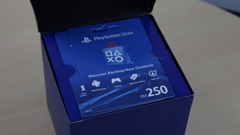PSN PS PlayStation Network Giveaway Gift Card Prepaid