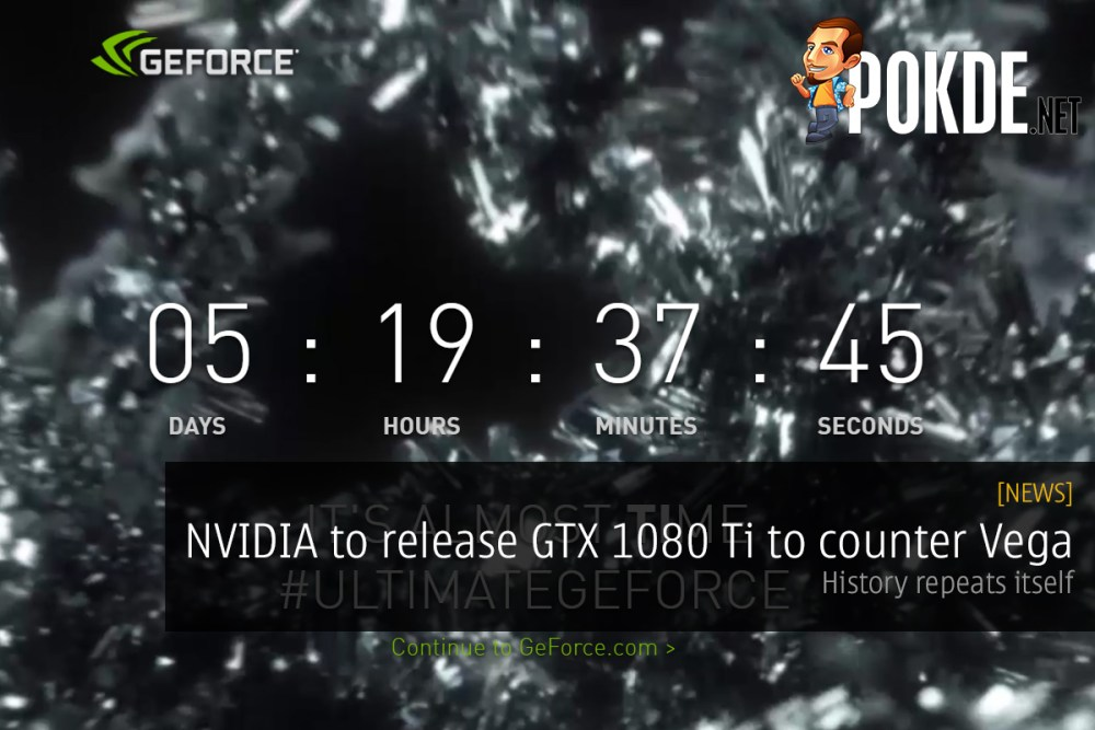 NVIDIA to release GeForce GTX 1080 Ti to counter Vega