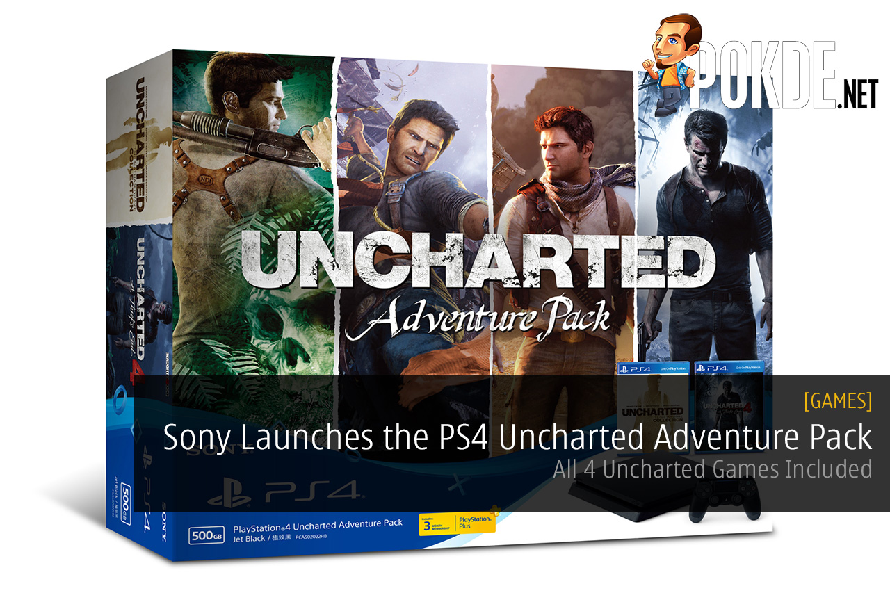Sony Launches The Playstation 4 Uncharted Adventure Pack All Ps4 Slim 2006 500 Gb Game Fifa 17 Games Included Pokde