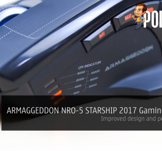ARMAGGEDDON NRO-5 STARSHIP III 2017 Edition Gaming Mouse Review - Improved design and performance 24