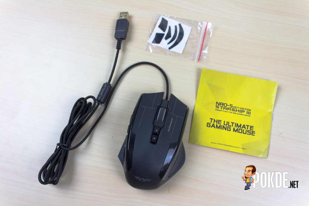 ARMAGGEDDON NRO-5 STARSHIP III 2017 Edition Gaming Mouse Review - Improved design and performance 32