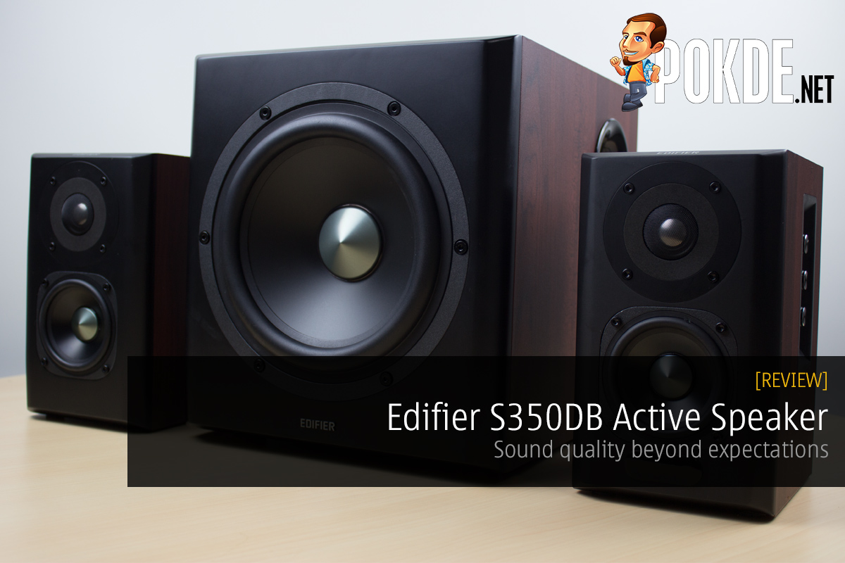 Edifier S350DB Active Speaker review — Sound quality beyond