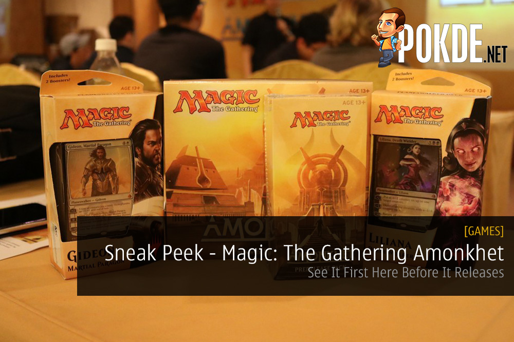 magic: the gathering amonkhet expansion