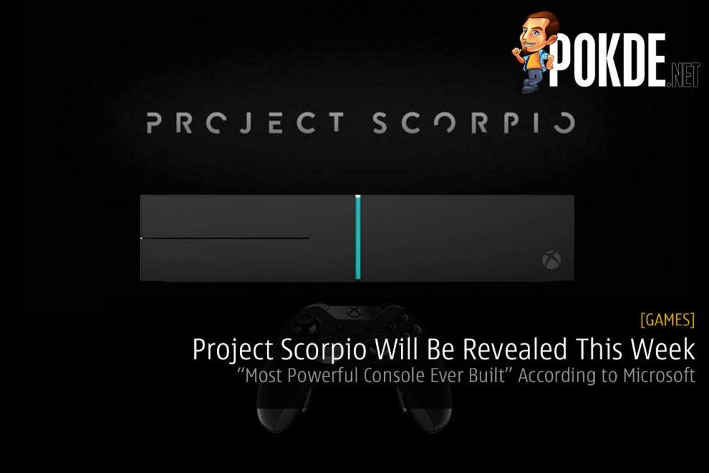 xbox one project scorpio reveal