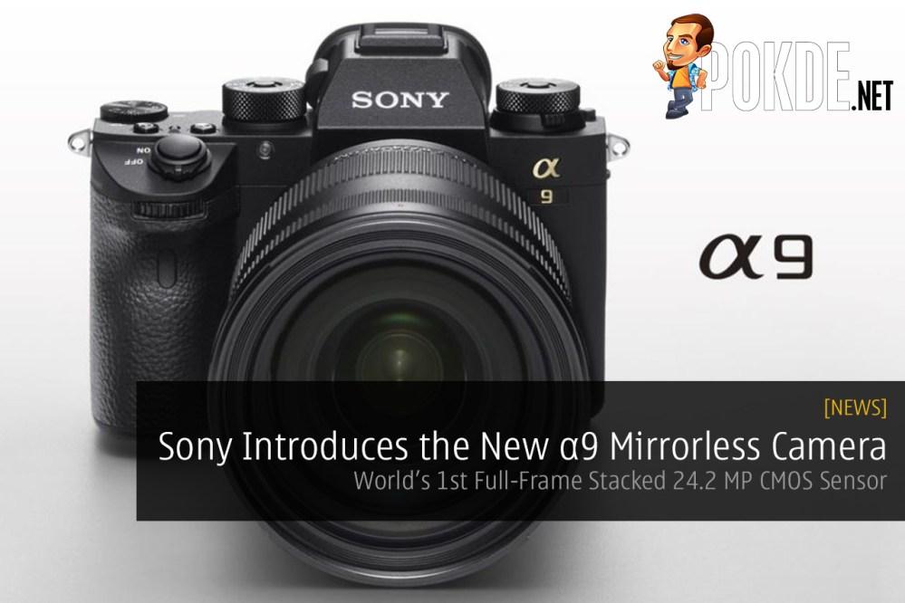 Sony α9 mirrorless camera A9