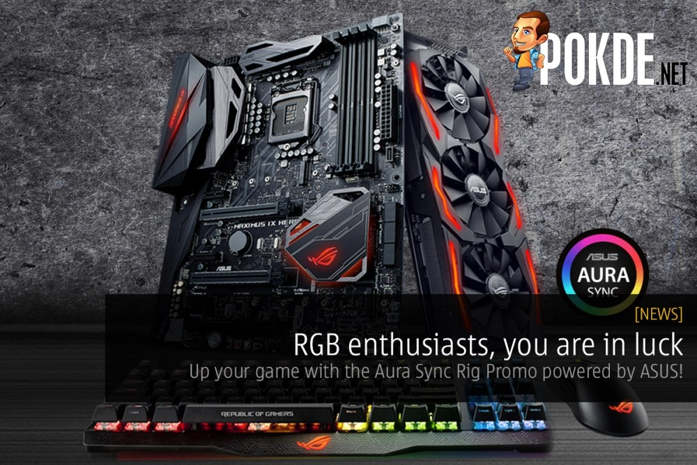 RGB enthusiasts, you are in luck