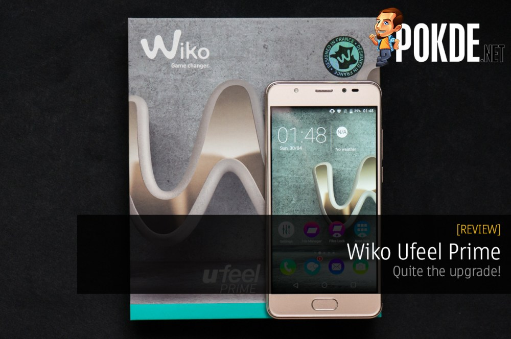 Wiko Ufeel Prime review — quite the upgrade! – Pokde