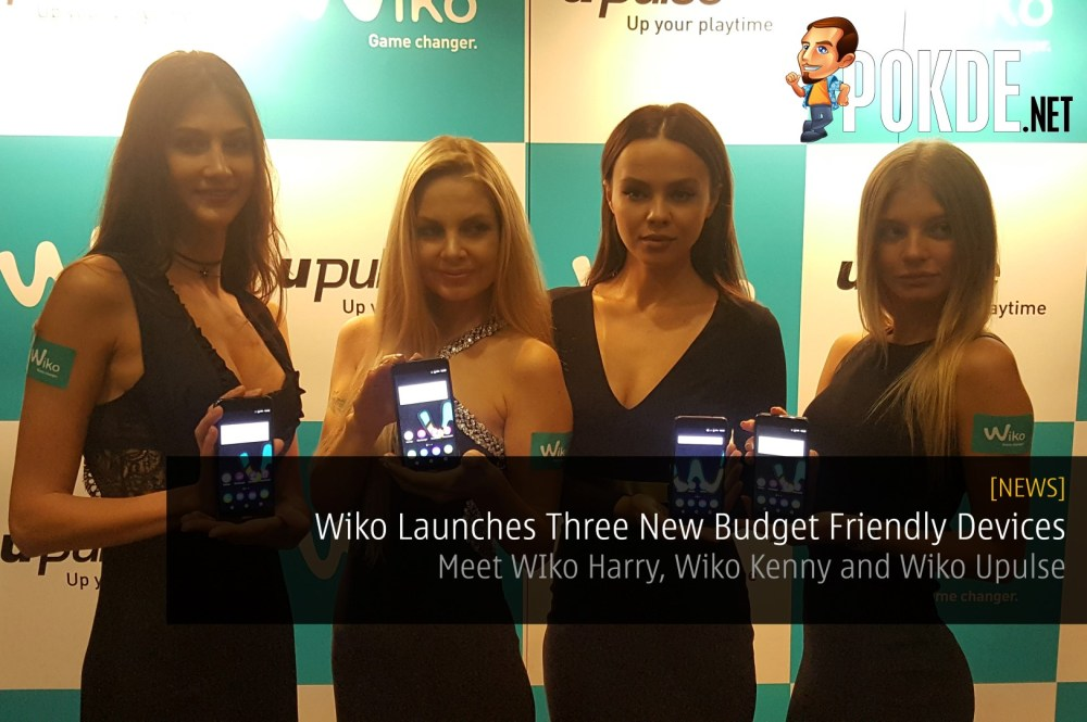 Wiko Launches Three New Budget Friendly Devices - Meet WIko Harry, Wiko Kenny and Wiko Upulse 27
